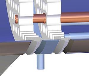 Double tubes leak detector