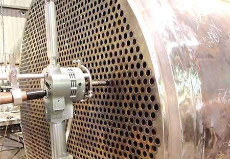 Orbital TIG circumferential welding